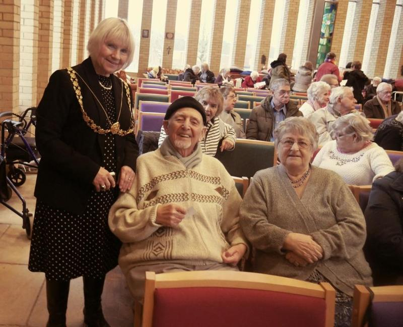 Bristol Lord Mayor with Brunelcare tenants