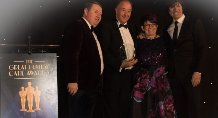 Image for Proud to win at the South West regional finals of the Great British Care Awards!