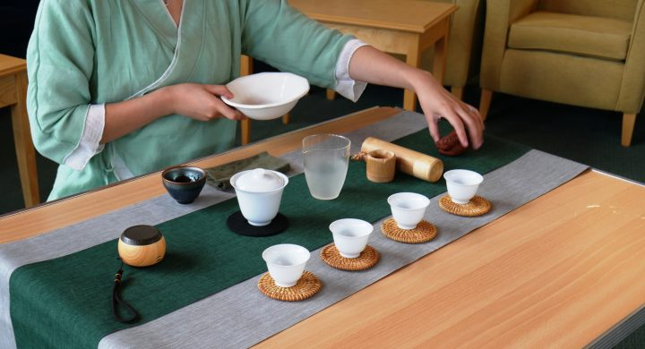 Image for Chinese tea ceremony launches project