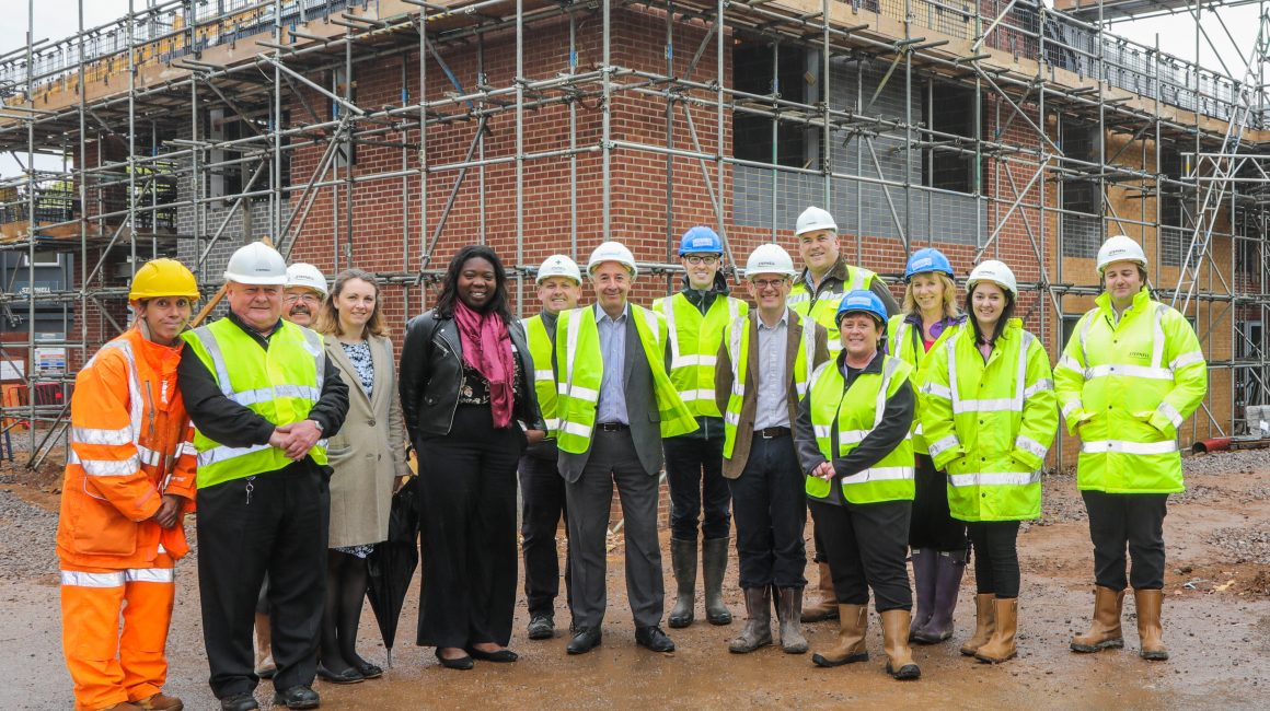 Little Heath topping out ceremony attendees April 2019