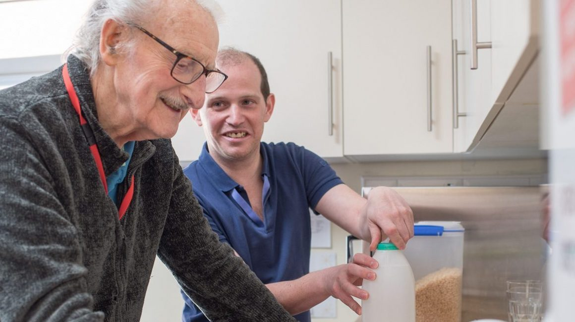 Carer and guest Orchard Grove reablement centre