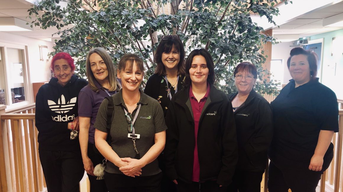 Waverley Gardens extra care team