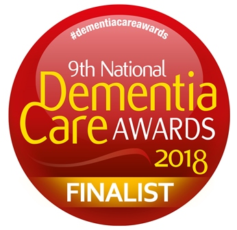Dementia Care Awards 2018 finalist logo