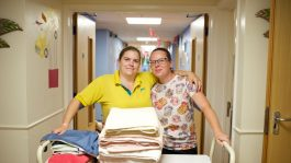 housekeepers at Robinson House