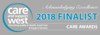 Care and support west award 2018 finalist