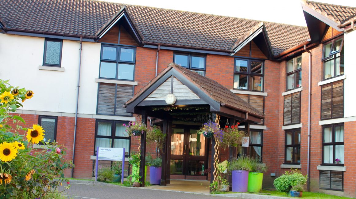 front Glastonbury care home