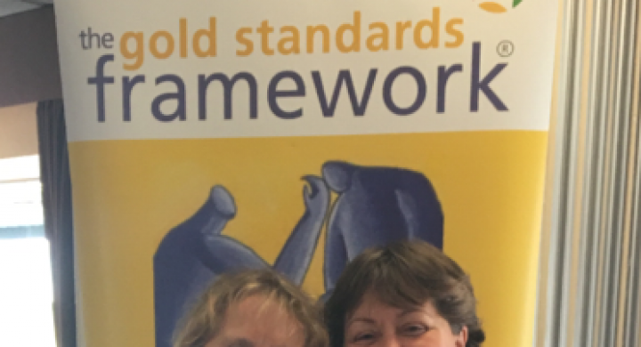 Image for Full set of Gold awards for End of Life Care!