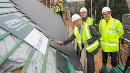 Little Heath topping out ceremony
