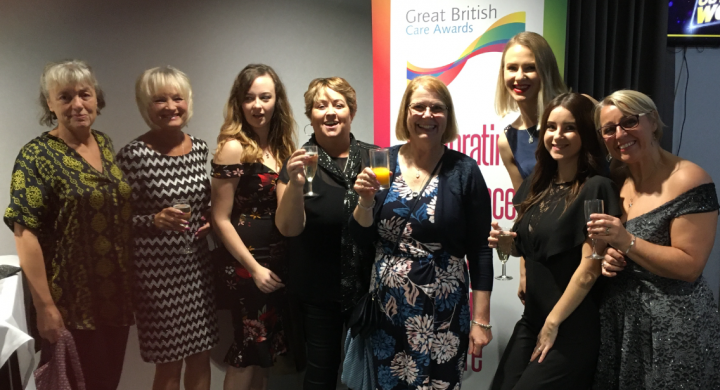Image for Brunelcare at the Great British Care Awards 2019