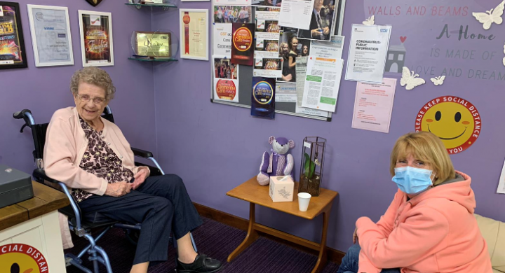 Image for Visiting during lockdown: Our Deerhurst care home