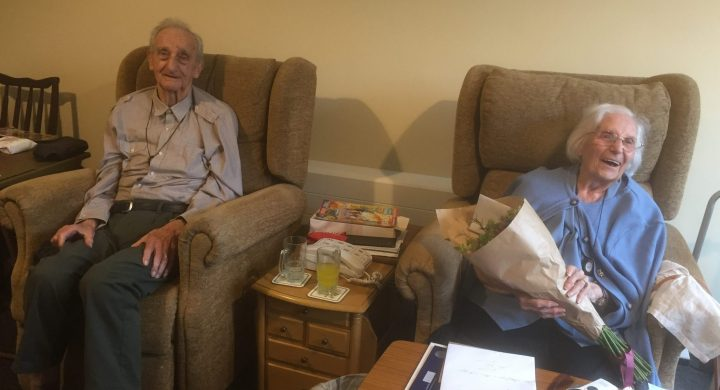 Image for Colliers couple celebrate 75th wedding anniversary
