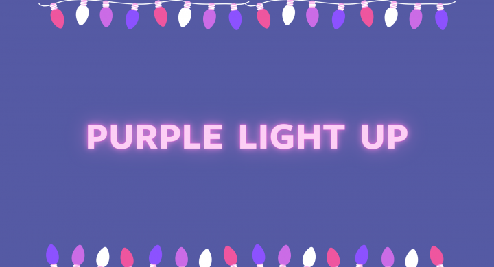 Image for #PurpleLightUp for International Day of Persons with Disabilities